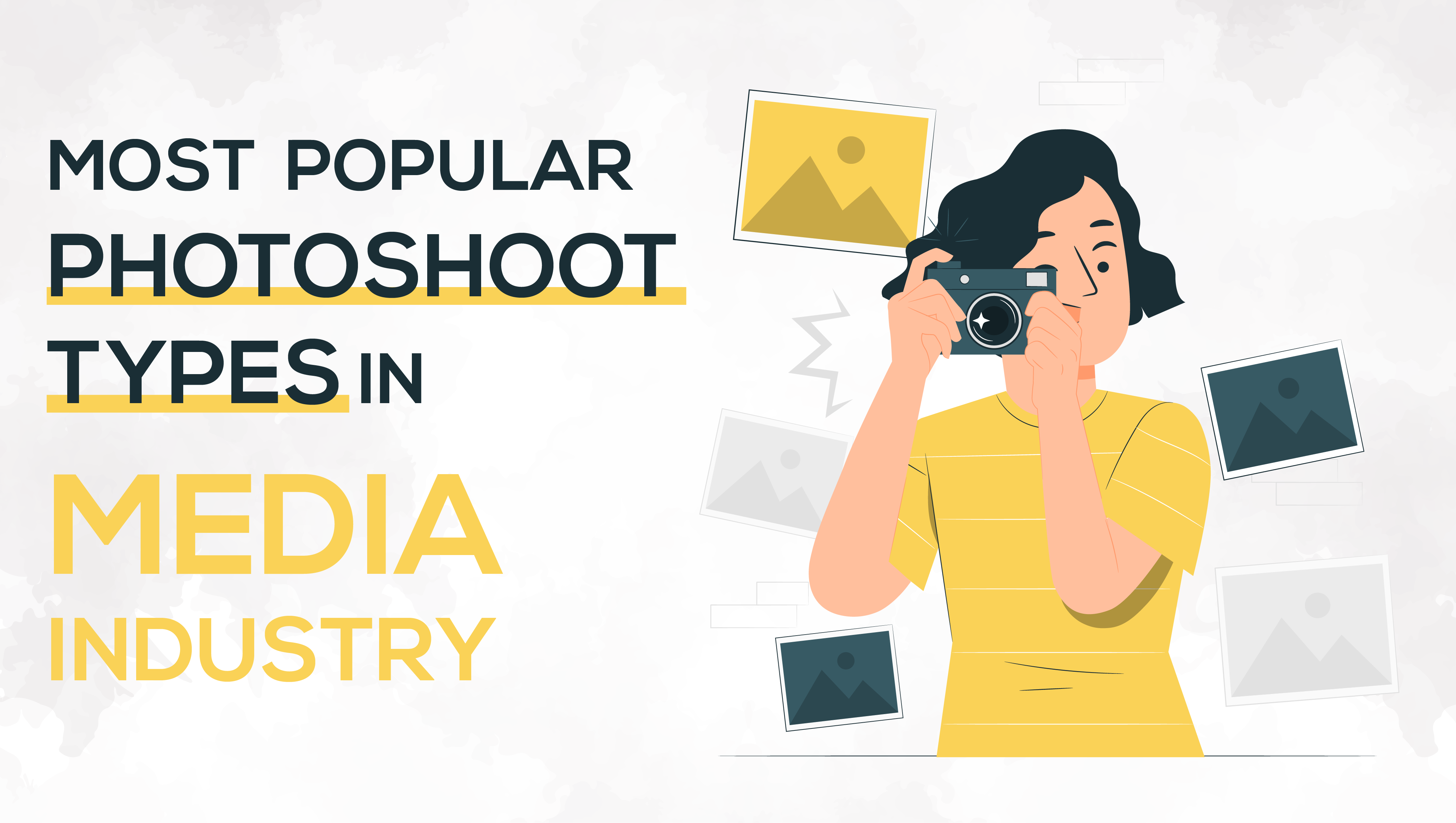 Most Popular Photoshoot Types in Media Industry